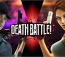 Jill Valentine VS Lara Croft