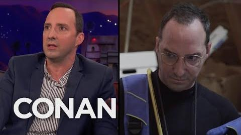 """Tony Hale Doesn't Know How To Explain This """"Arrested Development"""" Clip - CONAN on TBS"""