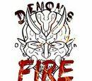 Demons on fire