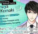 Shuya Komaki/Character