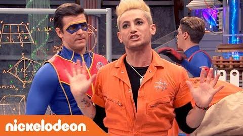 👨🔬Captain Man is Going to Body Swap with Frankini?! ↔️ ft. Frankie Grande - Henry Danger - Nick