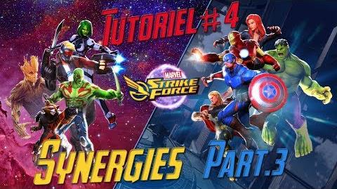 Marvel Strike Force 4 FR Les Synergies Part.3