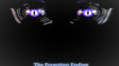 FNaC 3 Forgotten Ending