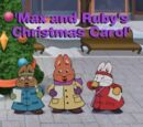 Max and Ruby's Christmas Carol
