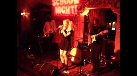 MARS ARGO - LIVE (BARDOT HOLLYWOOD - SCHOOL NIGHT- BEAUTY IS EMPTY