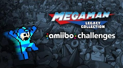 Mega Man Legacy Collection - All (but one) amiibo Challenges