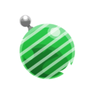 Green Stripey Ornament.png