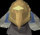 Máscara de íbis negro
