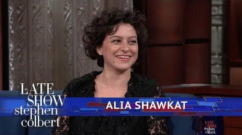Alia Shawkat Shares Old 'Donald Trump' Drawings