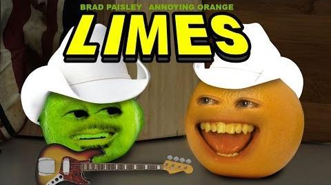 Annoying Orange: Limes