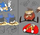 Sonic Mania Adventures concept artwork