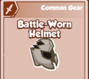 Battle-Worn Helmet