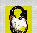 Yellow Door Lock