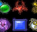 Armas e items