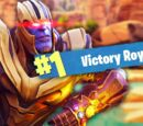 OWNING THANOS IN FORTNITE