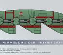 Type-162 Pervenche Destroyer