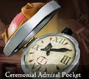 Ceremonial Admiral Pocket Watch