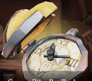 Scurvy Bilge Rat Pocket Watch