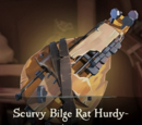 Scurvy Bilge Rat Hurdy-Gurdy