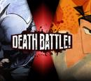 Batman vs Samurai Jack