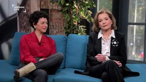Alia Shawkat & Jessica Walter on Arrested Development, dentures, and nuclear war London Live