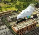 Cobertizos del Ferrocarril Skarloey