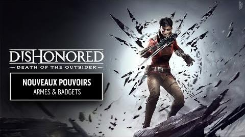 Dishonored La Mort de l'Outsider - L'arsenal d'assassin de Billie