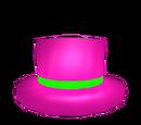 Neon Pink Top Hat