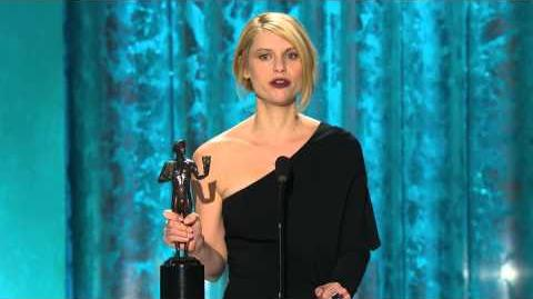 19th SAG Awards Acceptance Speech Claire Danes, Female Actor in a Drama Series (2013)