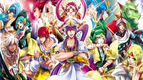 Magi The Kingdom of Magic Ost - Sinbad's Theme