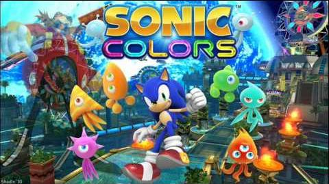 """Sonic Colors """"Sonic Colors"""" Music"""