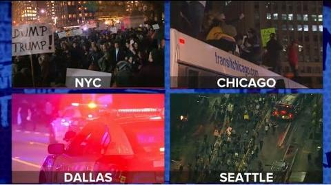 Trump Election Protested by Thousands Across the US-0