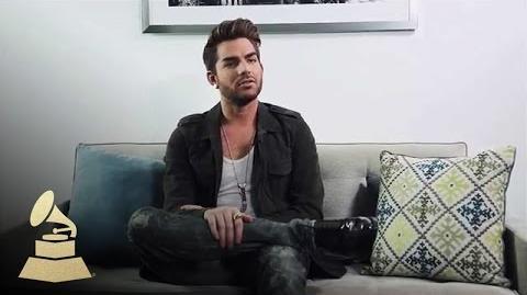 Adam Lambert: Rapid Fire GRAMMYs