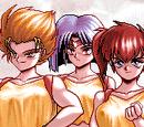 Yuri, Mari and Eri (Battle Skin Panic)