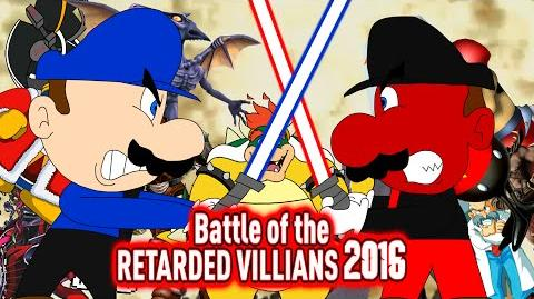 Battle of The Retarded Villains 2016 (50K SUBS!)
