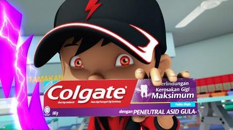 BoBoiBoy: Colgate Dengan Peneutral Asid Gula Promo