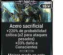 Acero sacrificial