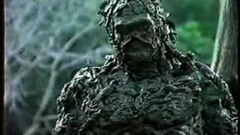 DC COMICS: Swamp Thing 1990 Greenpeace commerical