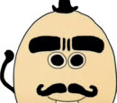 Homme œuf