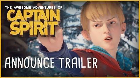 Die fantastischen Abenteuer von Captain Spirit E3 Trailer