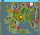 Midsummer Flower Map Guide