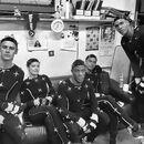 Parker Sawyers, Jesse Williams, E Gaffney and Minka Kelly photo.jpg