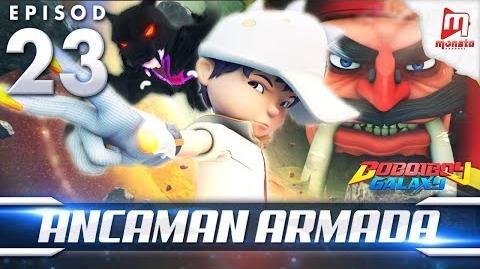 BoBoiBoy Galaxy EP23 Ancaman Armada - (ENG Subtitle)