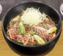 Yukihira Style Barley Flour Soba