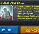 Rock Endurance Skill