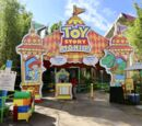 Toy Story Playland attractions