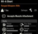 M1-A Short
