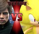 Luke Skywalker vs Sonic the Hedgehog