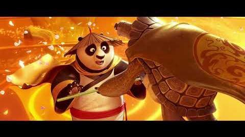 Po Meets Oogway - Kung Fu Panda 3 (2016)