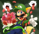 The Man in Green - Luigi (With Powers of all Versions)